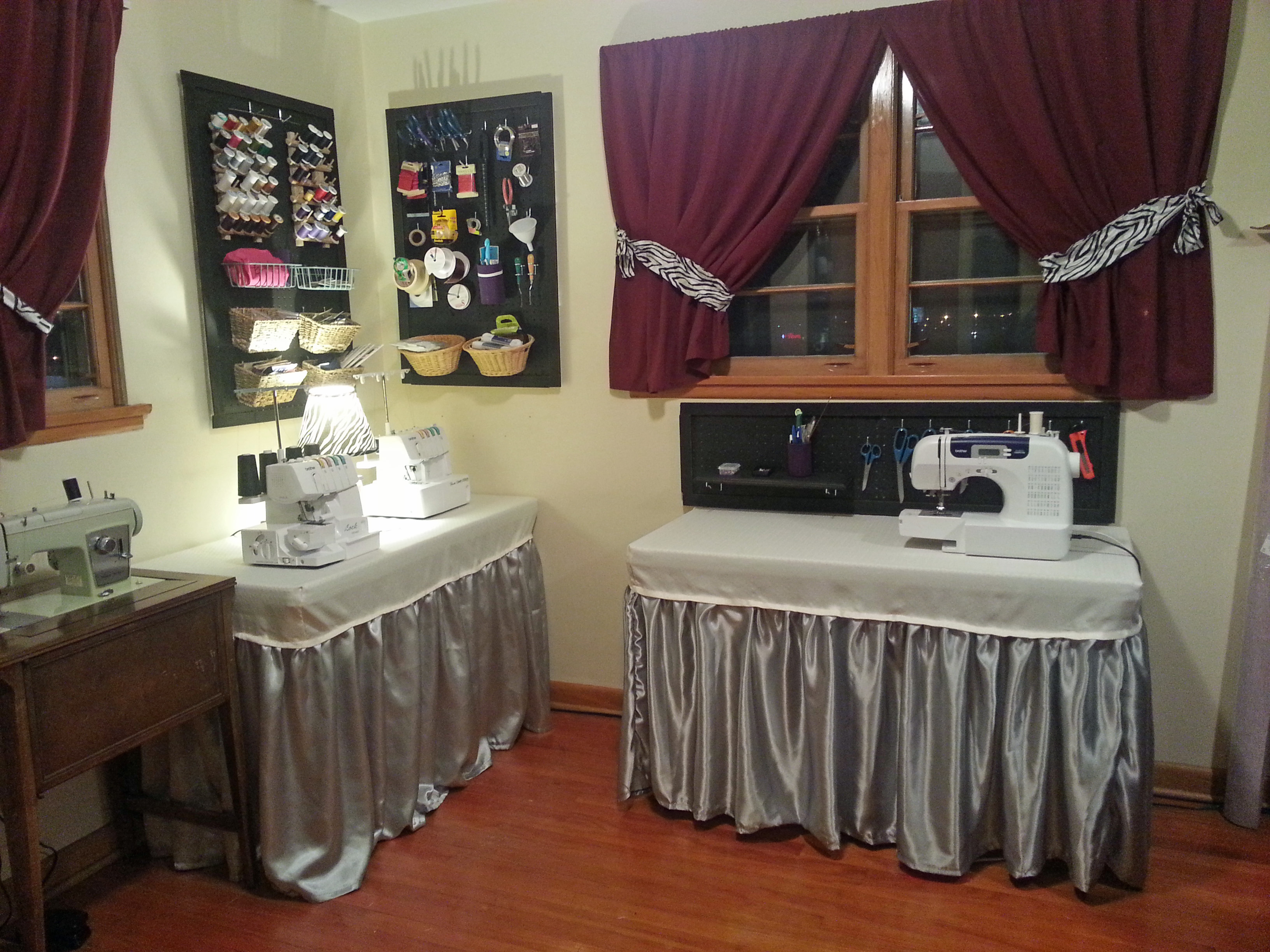 Sewing Room Makeover Days Of My Wine