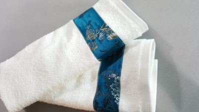 Embellished Towels