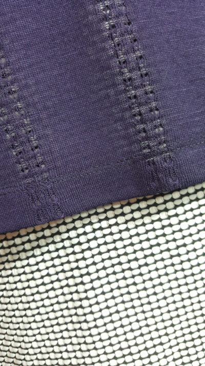 Polka Dot Skirt Purple Linden
